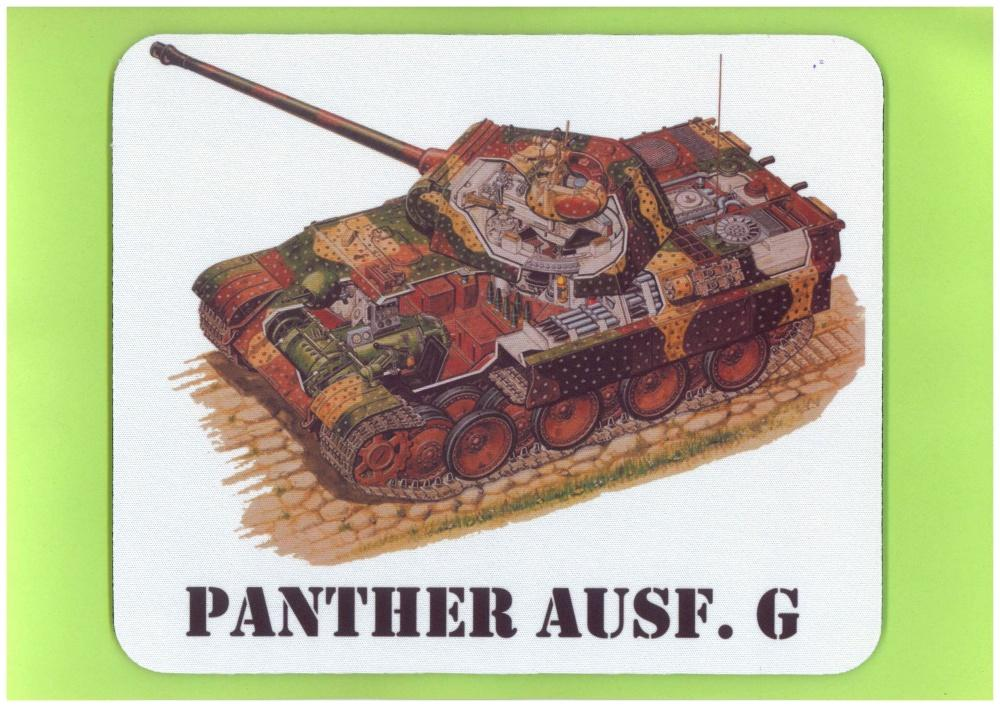 Mouse-Pad Panther Ausf