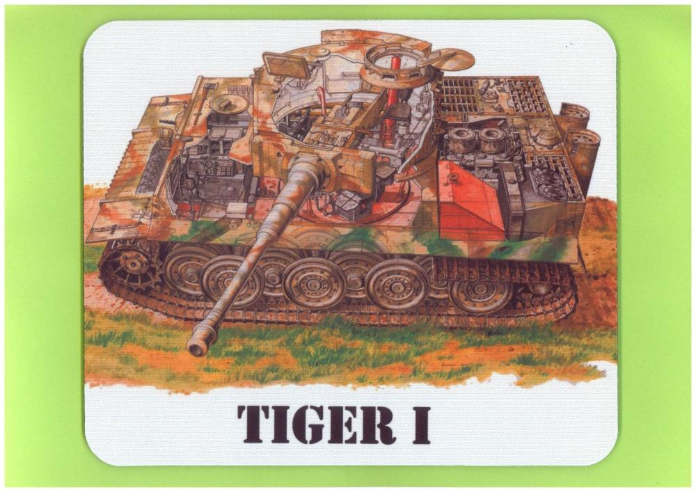 Mousepad Tiger I